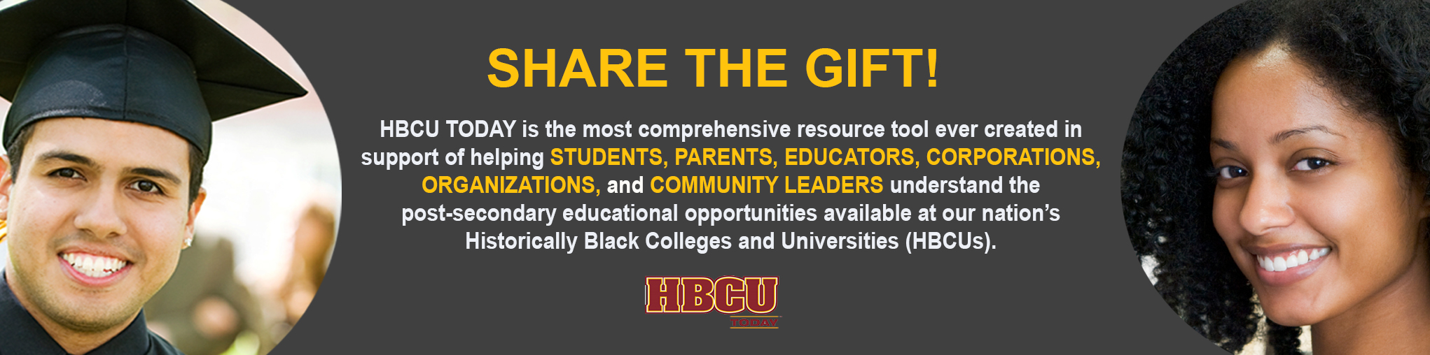 Share the Gift of HBCU Today!