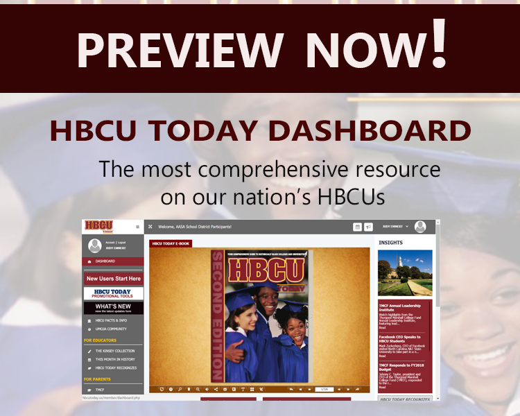 Preview the HBCU Today Dashboard Now